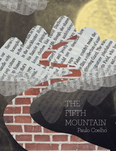 The Fifth Mountain Paulo Coelho Book Cover by Marija Vidanovic