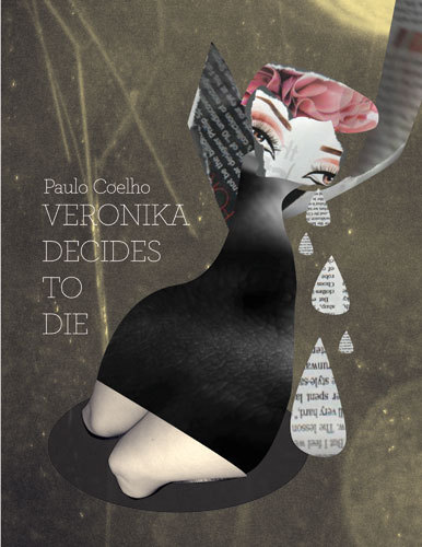 Veronika Decides to Die Paulo Coelho Book Cover by Marija Vidanovic