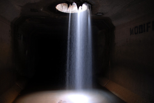 Falling water (by Industrial Relics Photography™)