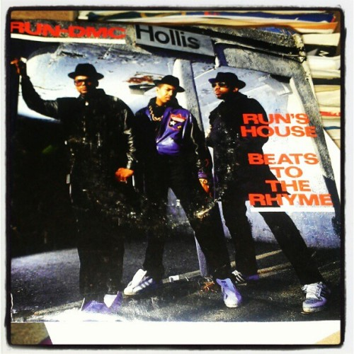 Ohhh the next vinyl night I do is gonna be fun. #Rundmc #jammasterjay #hiphop #45 #vinyl #records #1988 #profile #diggasknow