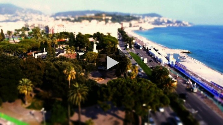 Another beautiful tilt-shift time-lapse film by Little Big World. Shot in Nice, France. Teeny, tiny Nice! WATCH NOW ON BLIP: Nice is Nice