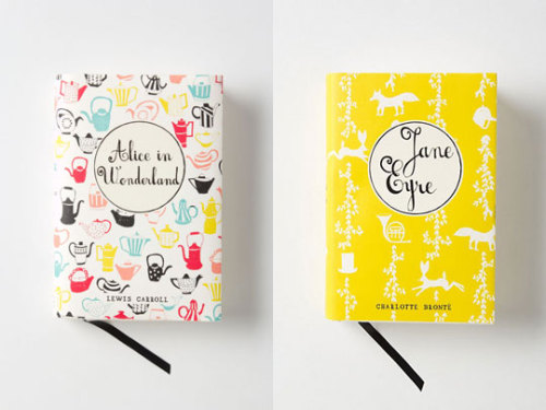 explore-blog:  Gorgeous new covers for Penguin classics, the best thing since Coralie Bickford-Smith's gems.