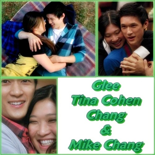 My Top 100+ TV Ships 173. Mike Chang & Tina Cohen-Chang, Glee