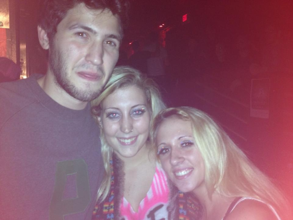 Made friends with baauer