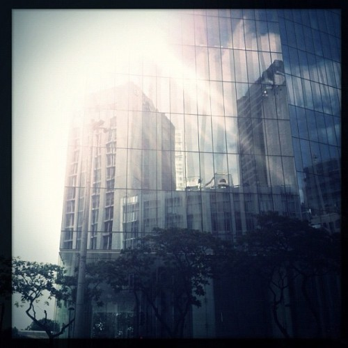 Tuesday shootday morning walk. (at Zuellig Building)