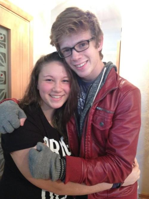 hellwithinmyhead:  Me and Sam Miller yesterday at the house party I was at :) 11/18/12  can we bring this back i miss this so fucking much i'm going to cry