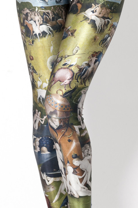 cavetocanvas:  Art History Leggings from Black Milk