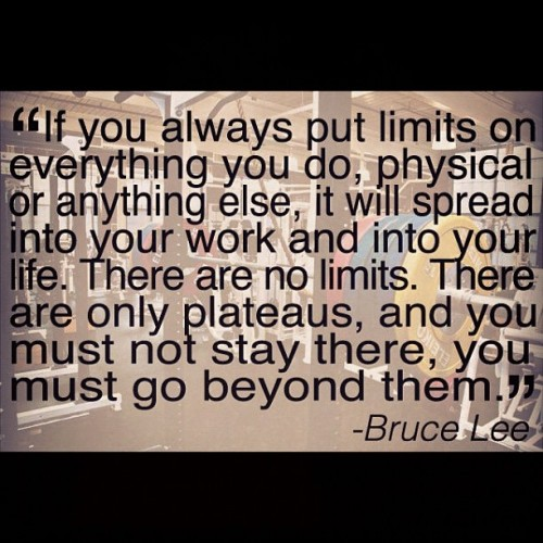 becausefitandhappymatters:  #fitness #fit #fitspo #brucelee #quote #motivation