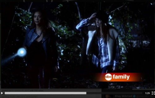 heatherannehogan:  zheenny-obsessedwithpll:  Fuck Yeah PAILY!  Paige McCullers, you are everything.