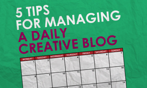 Having a daily creative blog can be difficult. Whether it be, illustrative, photographic, video, written or musical it can be hard to maintain on a daily basis and many people who start one of these tend to stop not long after. I should know, I have a daily character illustration blog and it has been difficult at times. Considering this here are 5 tips to keep your daily creative blog on track, based on my own experience. 1. Set Some Rules for Yourself If you set rules for yourself you creative blog will be more structured. Make rules for what kind of content you will post each day, make sure you have a theme of some kind. Aim for a time you want to post by each day, that way you will have something to aim for. When I first started my deadline was 11.59PM but yours might be 9PM, all depends on your schedule. Whatever rules you set for yourself make sure that they are not restrictive, otherwise you will not enjoy your what you are doing. 2. Be willing to work ahead Sometimes your life is just too busy to create something everyday. You might have work, school, illness/injury or an array of other things in your life stopping you from being creative. So with that in mind it is okay to work ahead. Weather this be through planning what creative output you will have this week or working on tomorrow's output today, I believe it is okay to do as long as you have something to show for it everyday. I often work a few days ahead, especially if I know life will get busy in the coming days. 3. Try new things When creating things everyday it is easy for your work to get a little stale. to stop this from happening try experimenting in different ways. Use different materials or try a different style. I have often set up a themed week that is much different to what I might normally do for some extra variety.  4. Show off your work Show off your creative blog to as many people you know. Why? 1. Feedback is always appreicated and allows for you to grow as a creative and 2. by showing off your work you know that people are seeing it, and hopefully enjoying it, and that can be great encouragement for you to continue your creative work. A great place to show off your work is at MakeSomething365, which showcases daily creative blogs.  5. Enjoy what you are doing. The more you enjoy your daily creative blog the more likely you are going to continue working on it. By Trevor Van As Trevor Van As is the man behind Project Daily, a daily character illustration blog that has been running for over 625 consecutive days.