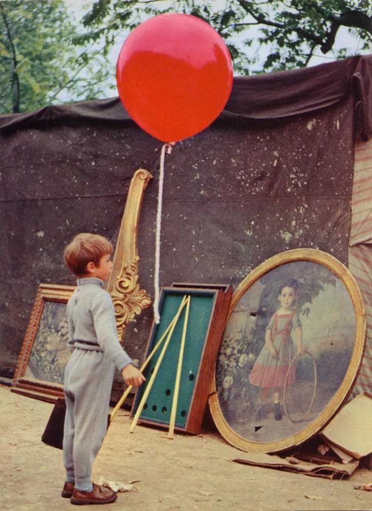 salesonfilm:  Le Ballon rouge (Albert Lamorisse, 1956)