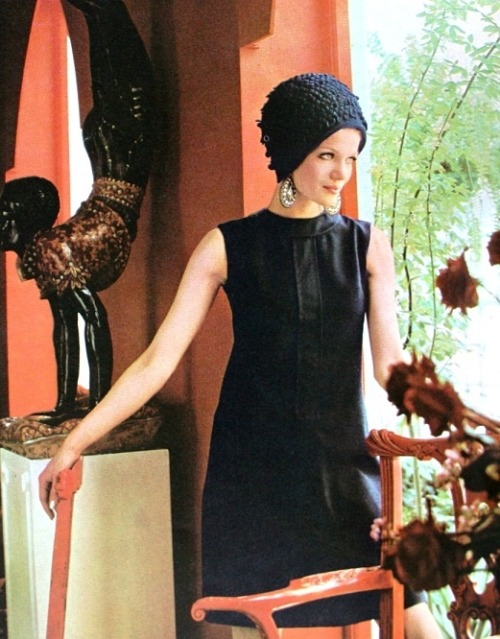 Willy van Rooy in Vogue, 1967.