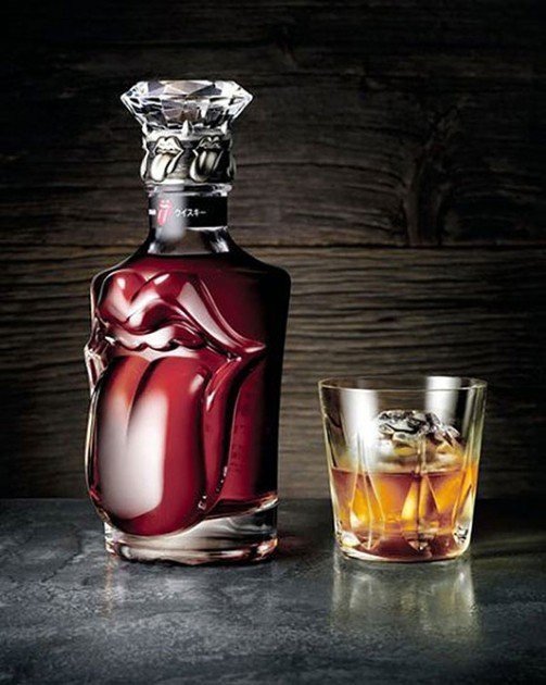 The Rolling Stones 50th Anniversary Whisky by Suntory