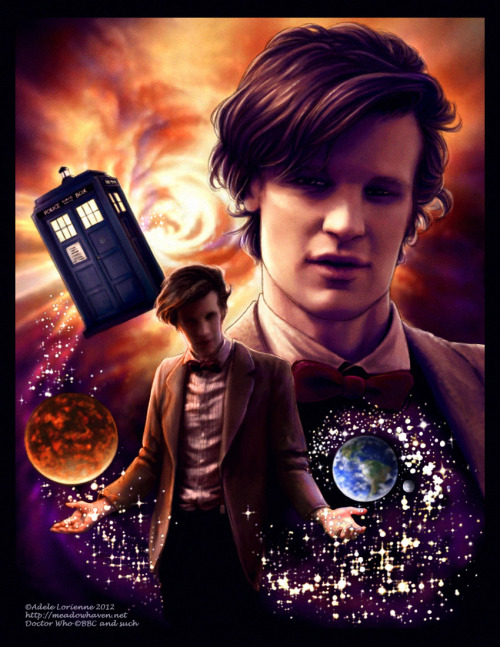 Doctor Who by `Saimain adelelorienne:  Doctor Who That's the question, isn't it?  :)