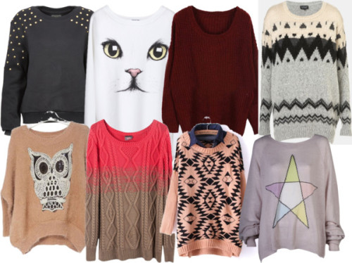 sweater wish list.