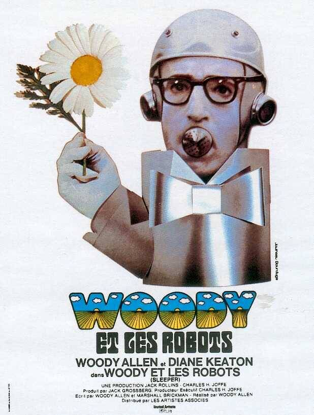 "lonelysandwich:  ""Woody et les Robots"" (1973) Some other great ones and an awesome ""Sleeper"" trailer here."