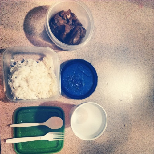 Lunch Organized Neatly.