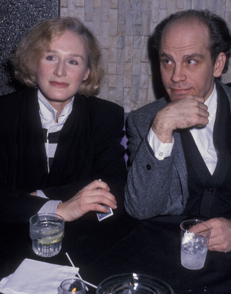 Glenn & John Malkovich - The Grifters premiere party (January 23, 1991)