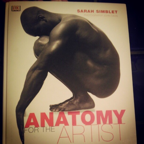 msbr0wneyes:  Yayy my book came in the mail!(: #art #anatomy #books