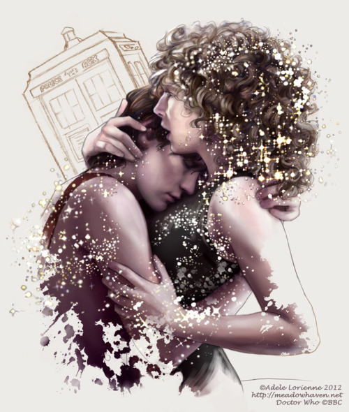 bjorkubus:  adelelorienne:  Among the Stars Finished up another Eleven/River sketch! Somebody really should take Doctor Who away from me already. <3 Prints available at the Meadowhaven Store  OTP FEEEEEELS