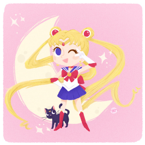 Rewatching my Sailor Moon dvds for the umpteenth time. Haven't finished watching all seasons in Japanese yet. I think I'll do that…