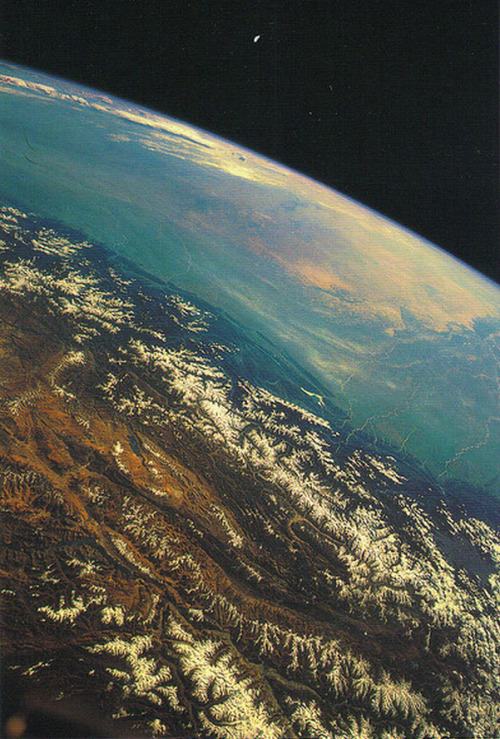 stellar-indulgence:  Himalayas from space