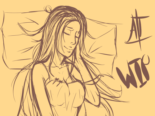 My gallery needs more Orihime. I'm in the mood to draw IshiHime tonight…