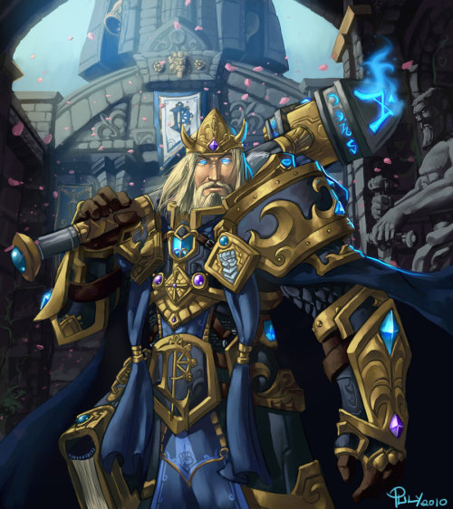 Hail, King Arthas Menethil by ~pulyx