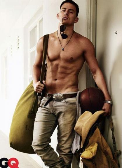 say-it-with-conviction:  Channing Tatum    OMG!!! so hot! Channing is ❤😍