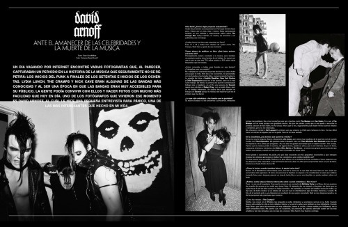 Here is my interview with David Arnoff for Panico Mexico!