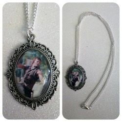 The Walking Dead Daryl Dixon Cameo Necklace