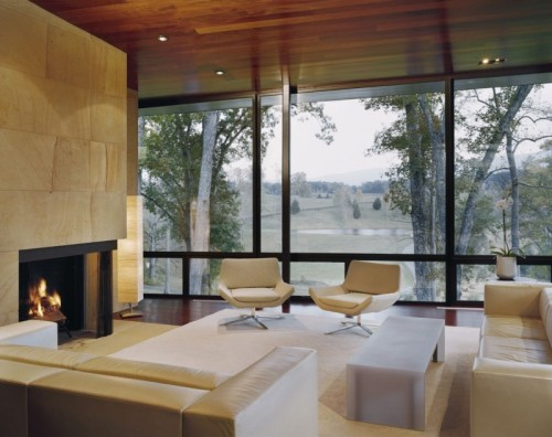 homeandinteriors:  Blue Ridge Residence by Voorsanger Architects