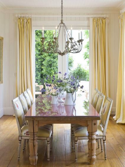 beautiful and elegant dining room in San Francisco