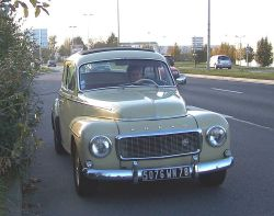 sketchymetal:  The Volvo PV is a series of two door, four passenger car models &mdash; the PV444 and the PV544 &mdash; made by Volvo from 1943 to 1966. &ndash; Wikipedia></a><div id=