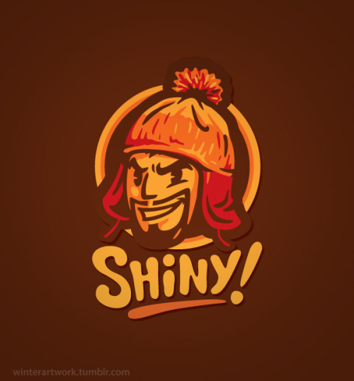 "My classic design ""Shiny"" on sale today  (HERE)Store   •   Behance   •  Twitter   •   Facebook"