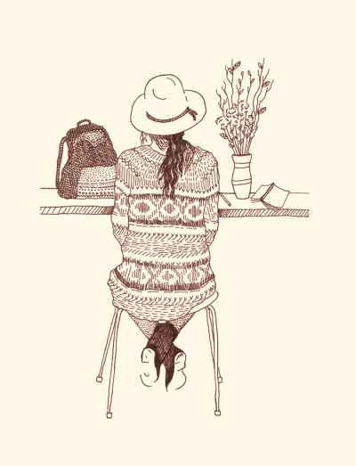 freepeople:  Our favorite holiday sweaters, illustrated!
