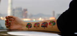 springwise:  Online store for temporary tattoos pays members for their unique designs Hand-drawn tattoos may offer a unique way to enhance one's personal style, but often people are put off by a tattoos permanence. Enter Dottinghill, an online community and e-store focused on unique temporary tattoos that rewards designer members for their creations. READ MORE…