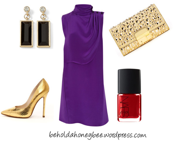 Holiday Party-Splurge by meljparrish featuring a clutch purse