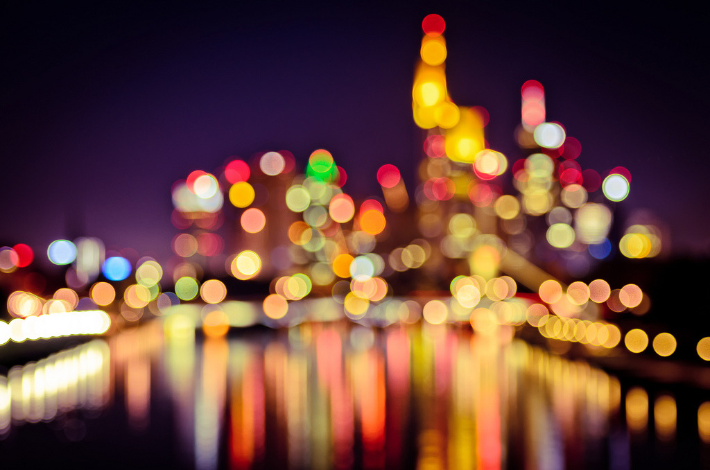 Frankfurt Bokeh Lights (by _flowtation)