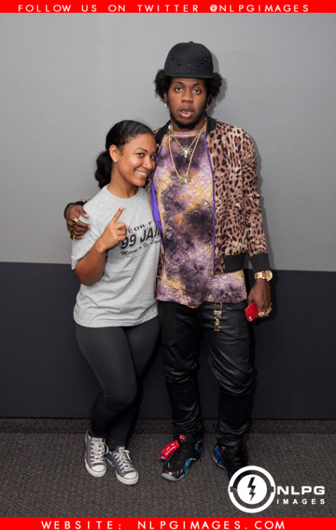 "11-19-12 -Trinidad Jame$ at WEDR 99 Jamz interviewing with Felisha Monet. NLPGimages ""We're Everywhere You're Not"" Twitter @NLPGimages"