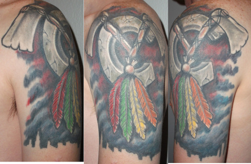 Blackhawks tattoo
