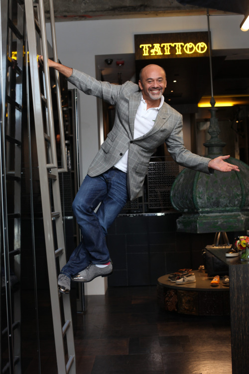 Red State: Q&A with Christian Louboutin