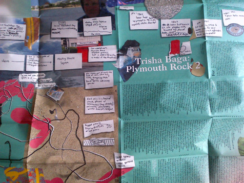The exhibition brochure for Trisha Baga: Plymouth Rock 2 features artist-sourced materials as well as an essay by curatorial assistant Elisabeth Sherman. It's available for download on our website.