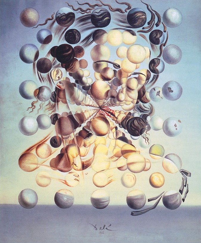 paperimages:  Salvador Dali, Galatea of the Spheres, 1940