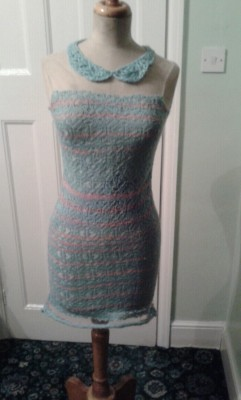 Finally finished my dress.