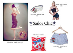 Dollydripp's Gift Guide Part 2: For the Sailor Girl!  Available from the website & our Etsy shop.