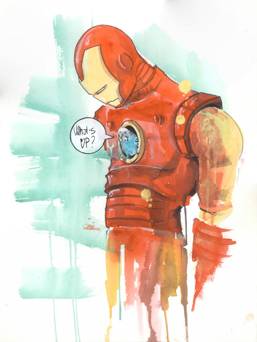 Iron Man by Lora-zombie