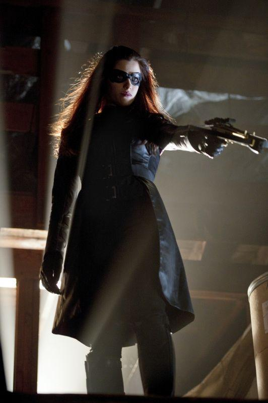 Huntress as she will appear on Arrow