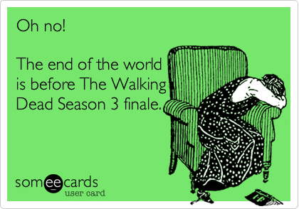 The Walking Dead Season 3 Ecard 2