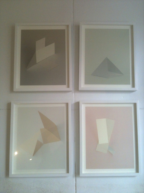 joannamcclure:  Check out the framed prints- ready to send to the gallery for the opening on December 5th!